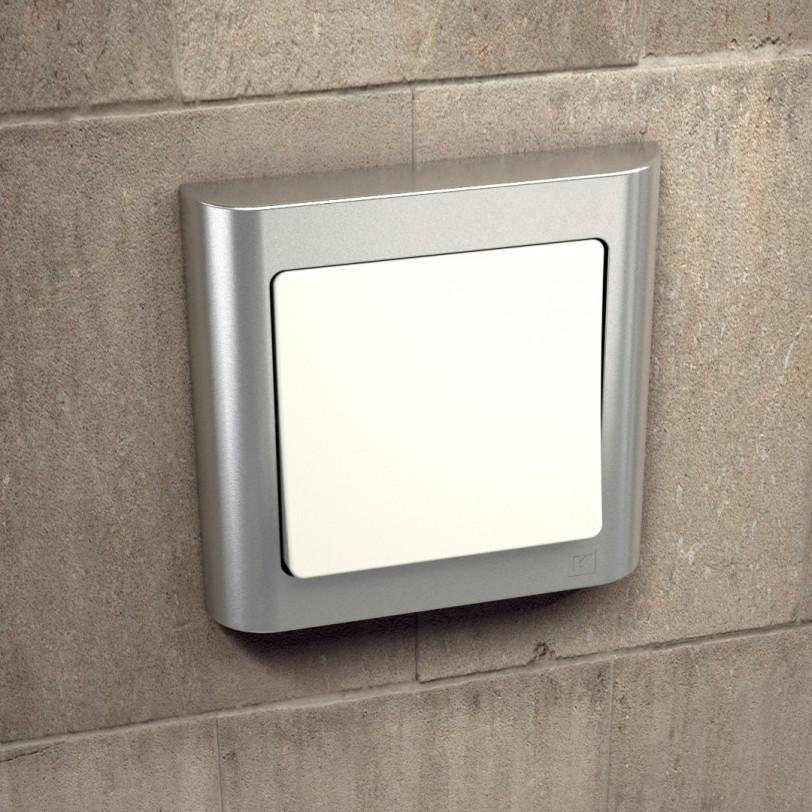 Schneider Electric Fuga Schalter Hauswand